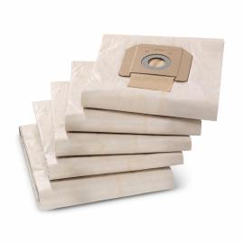 KARCHER Conjunto de 5 sacos filtrantes em papel p/ NT65/2