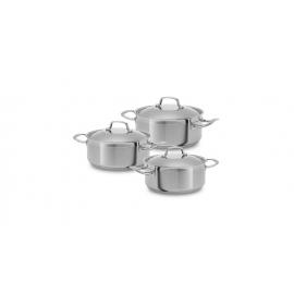 Trem de cozinha indução com 3 peças Silampos